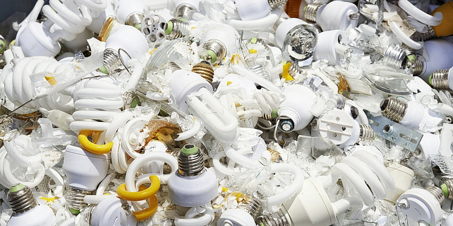 Disposing of Light Bulbs and Batteries