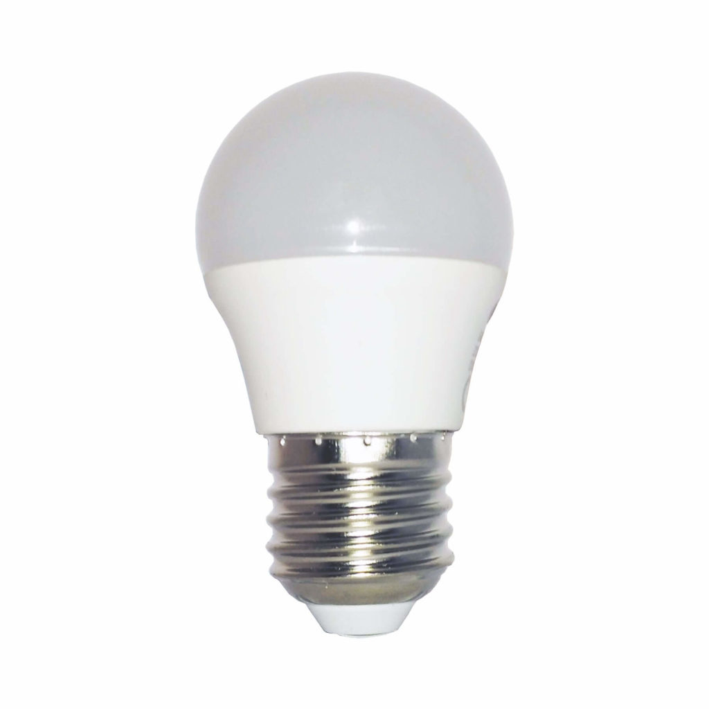 6watt Golfball LED ES E27 Screw Cap Daylight Equivalent To 40watt