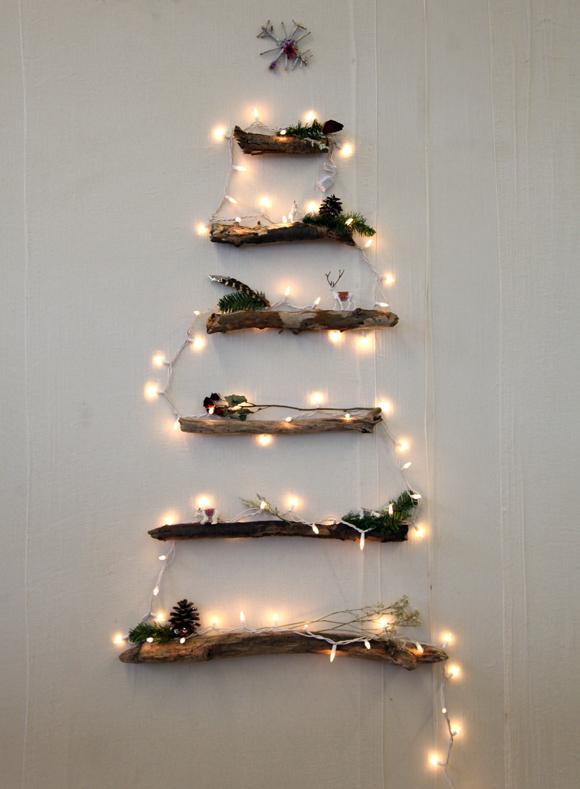holiday lights alternative christmas tree free people