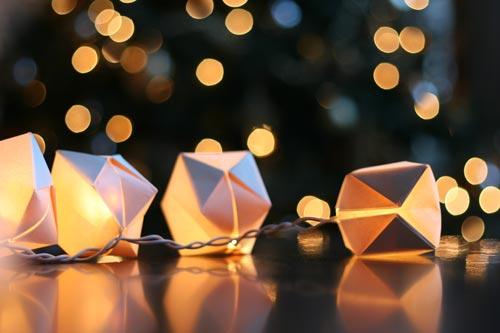 holiday lights mini lanterns wit whistle
