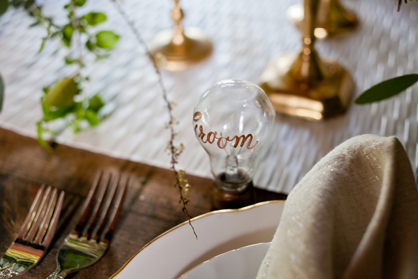edison bulbs home decor placecards ruffled mirabel photography