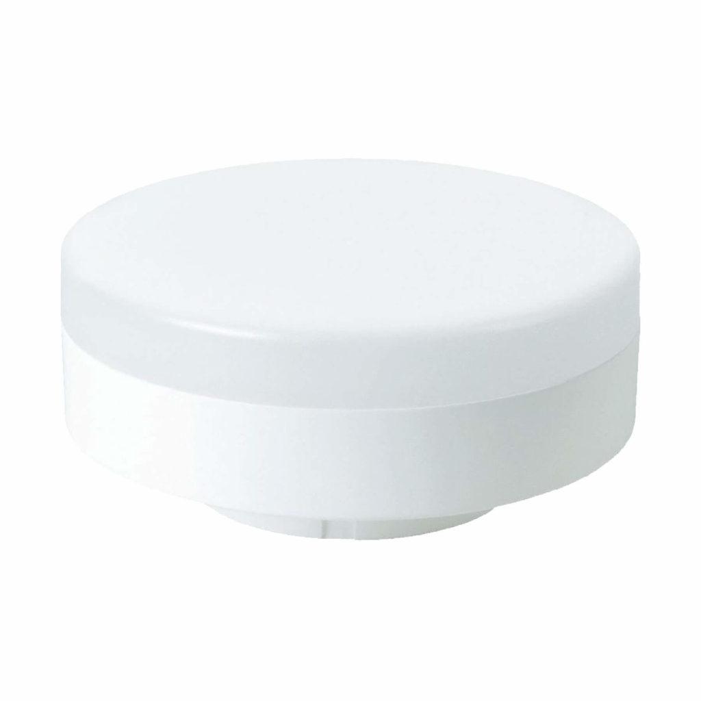 MEGAMAN 7watt Round LED 240volt GX53 Cap Warm White