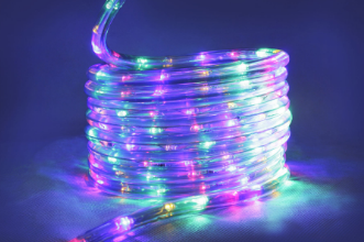 10M Multi Colour LED Rope Light
