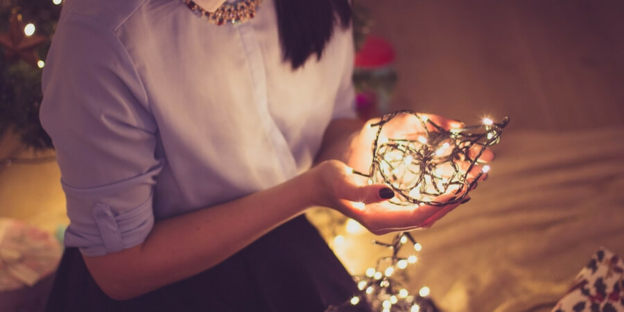 8 ways to use holiday fairy string lights all year round