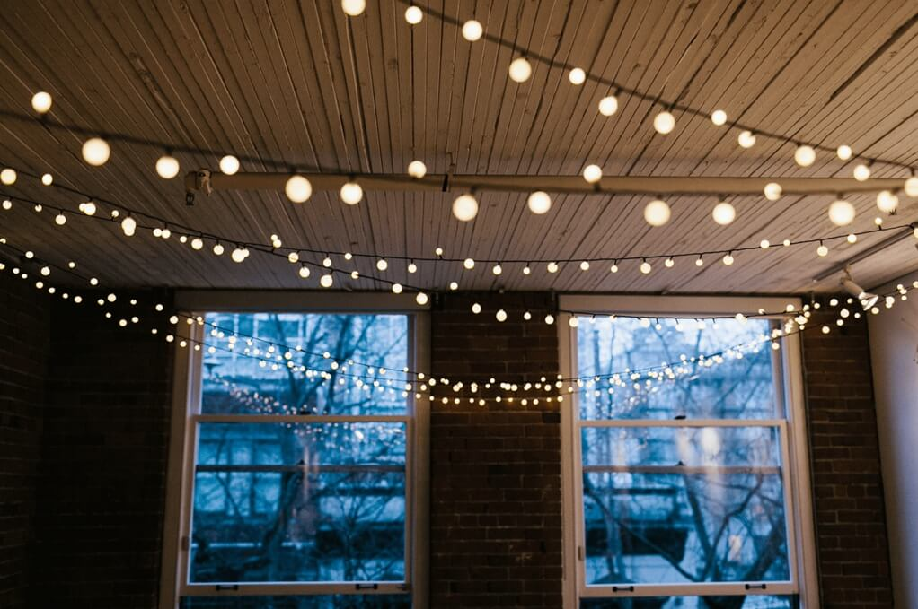 holiday fair lights year round ceiling