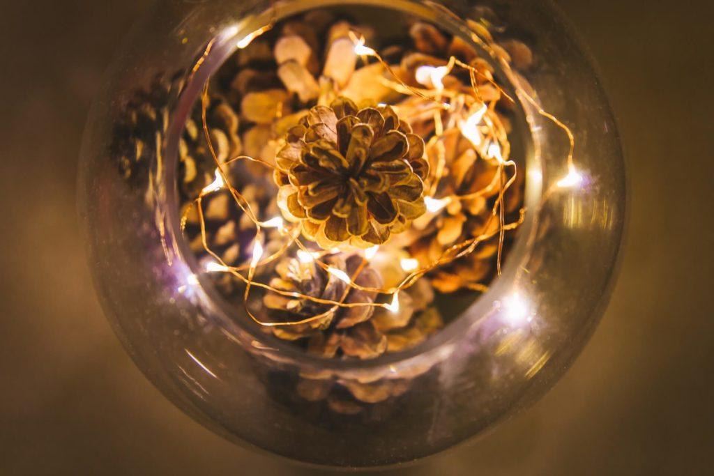 holiday fair lights year round decorative jar
