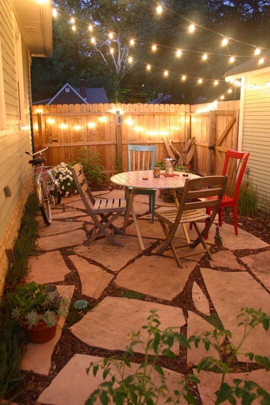 holiday fair lights year round outdoor environment backyard garden