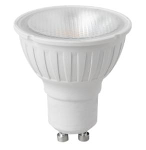5.5watt GU10 LED 2pin Twist Lock Cool White Equivalent To 50watt 35 Degree Dimmable