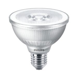9.5watt Par30 Reflector LED ES E27 Screw Cap Warm White Equivalent To 75watt 25 Degree Dimmable