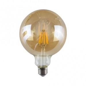 5watt G95 Globe LED ES E27 Screw Cap Warm White Gold Finish Equivalent To 60watt Dimmable