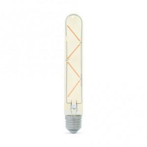 5watt Tubular T30 LED ES E27 Screw Cap Warm White Gold Finish Equivalent To 60watt Dimmable