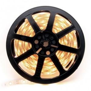 5 Metre Warm White Colour Flexible LED Strip 60 LED Chips Per Metre 24watt