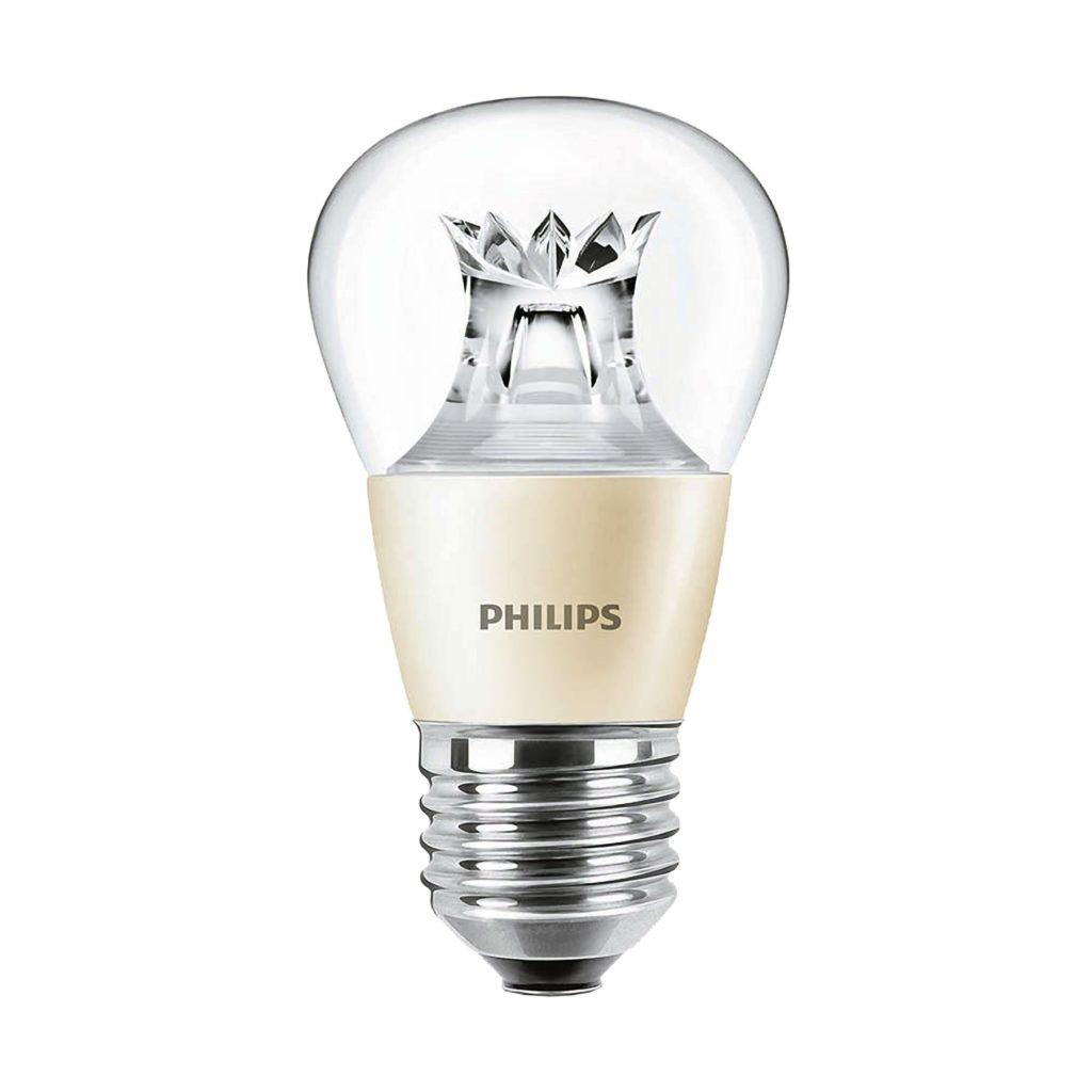 4watt Golfball LED ES E27 Screw Cap Clear Warm White Equivalent To 25watt Dimmable