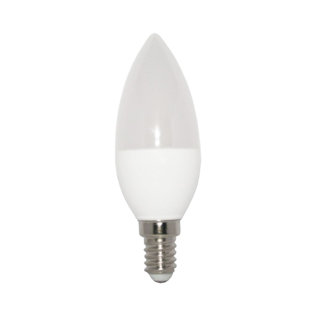 5watt Candle LED SES E14 Small Screw Cap Warm White 3 Step Dimming - Standard Light Switches Only - NOT Dimmers
