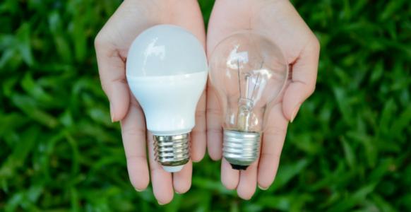 LEDs vs. Incandescent Lights