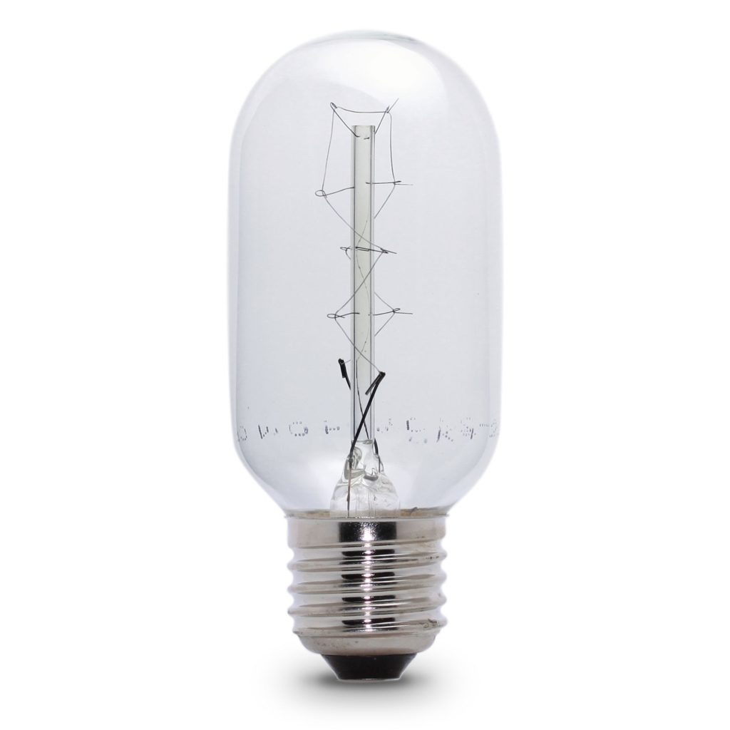 40watt ES E27 Screw Cap Tubular Filament