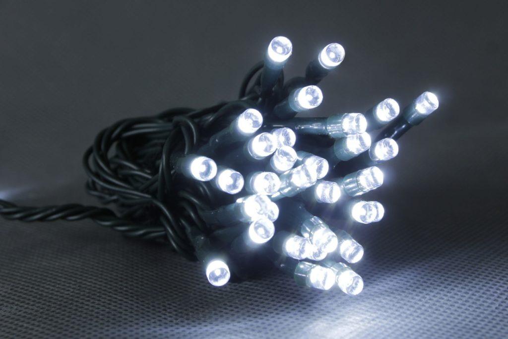 24v 50L White Multi Function LED String Lights With Transformer Included