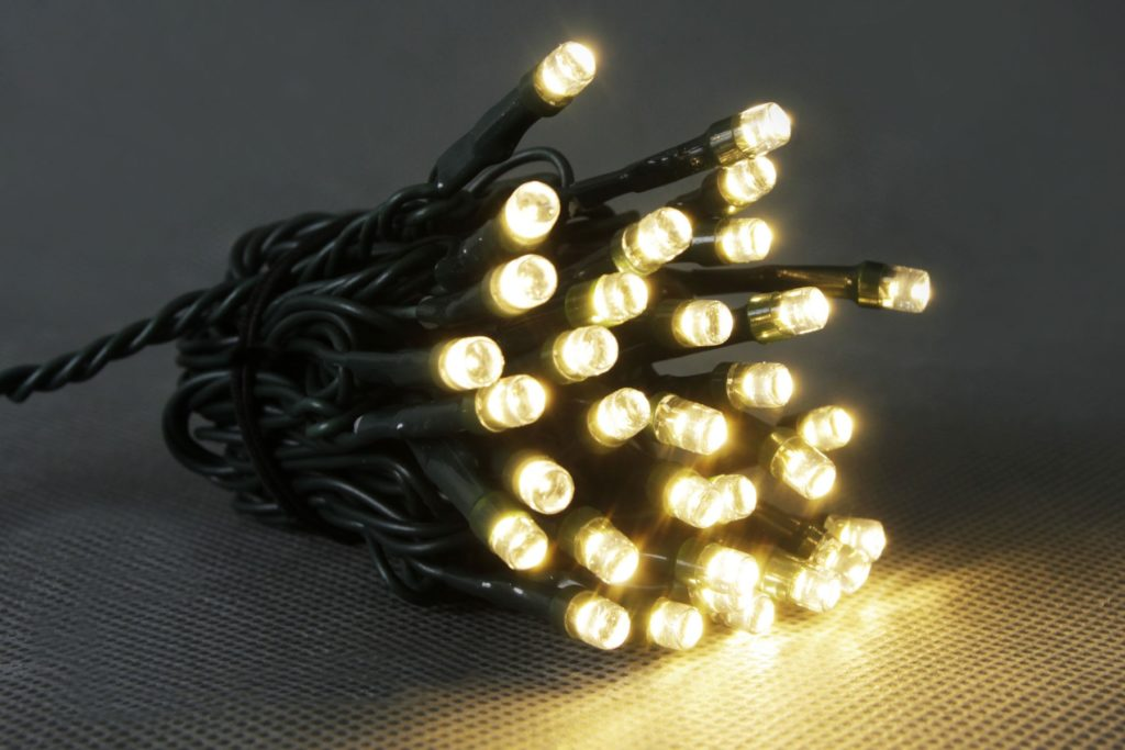 24v 50L Warm White Multi Function LED String Lights With Transformer Included