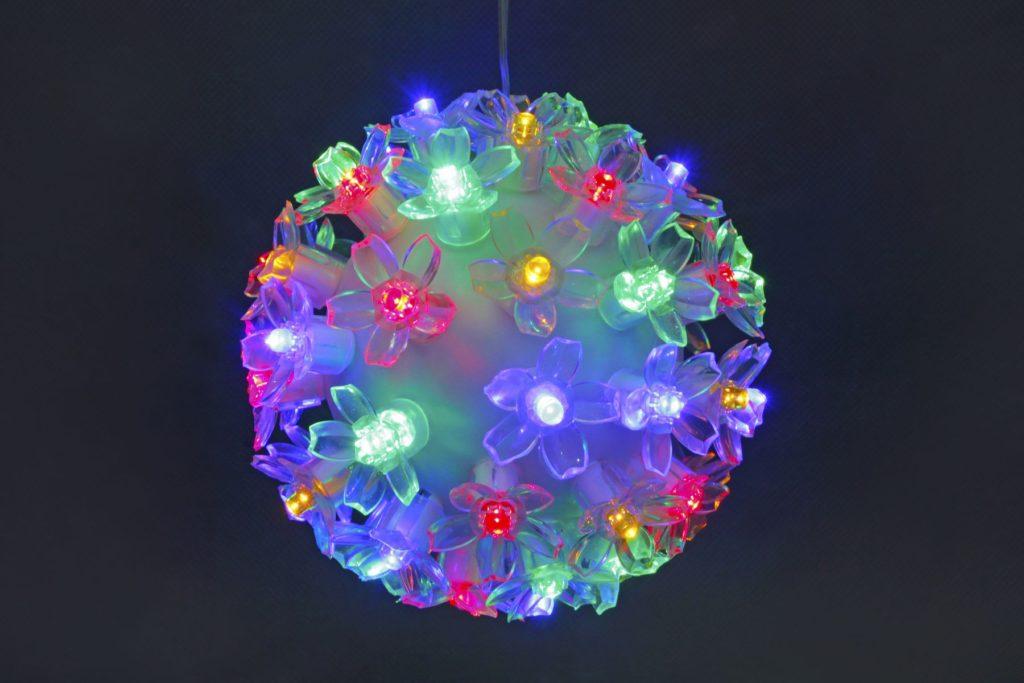 50L Multi Colour LED Ball Light