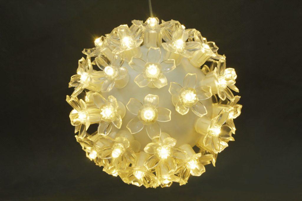50L Warm White LED Ball Light