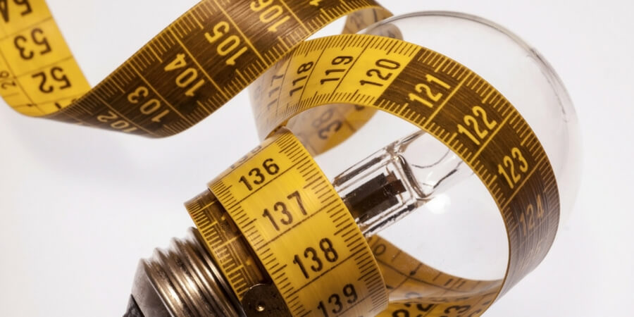 How to Measure Light Bulbs
