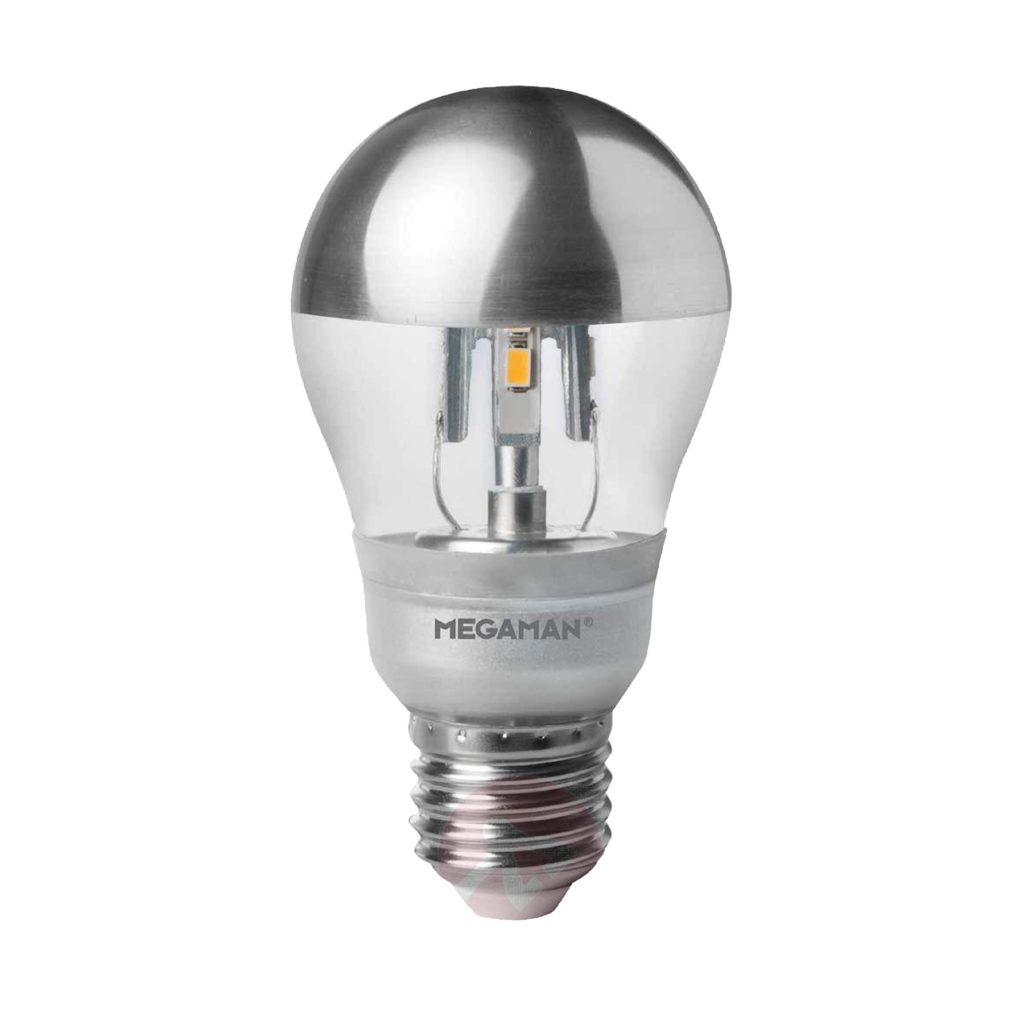 5watt GLS Crown Silver LED ES E27 Screw Cap Warm White Equivalent To 35watt Dimmable
