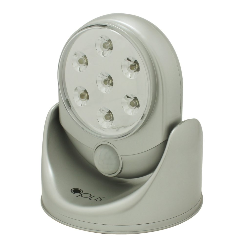 Silver 360 Degree Motion Sensor Security Light