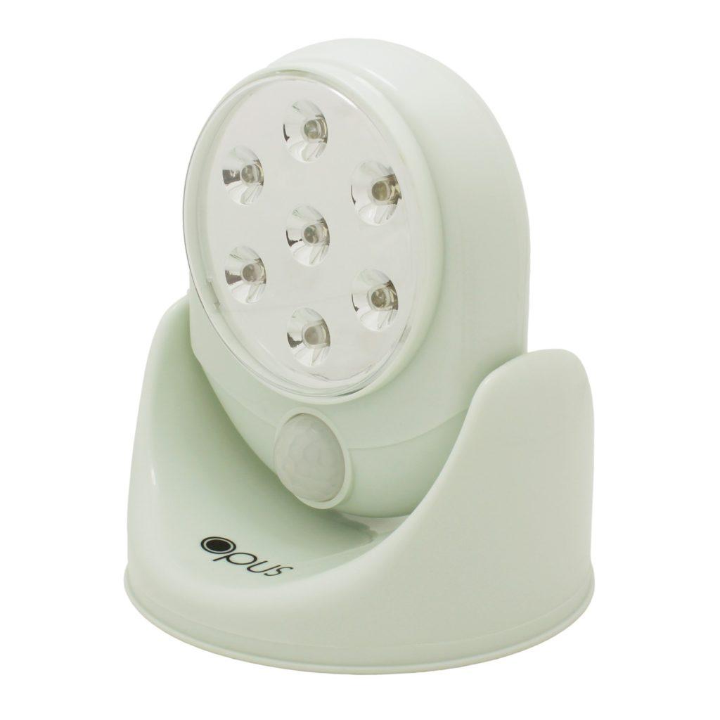 White 360 Degree Motion Sensor Security Light