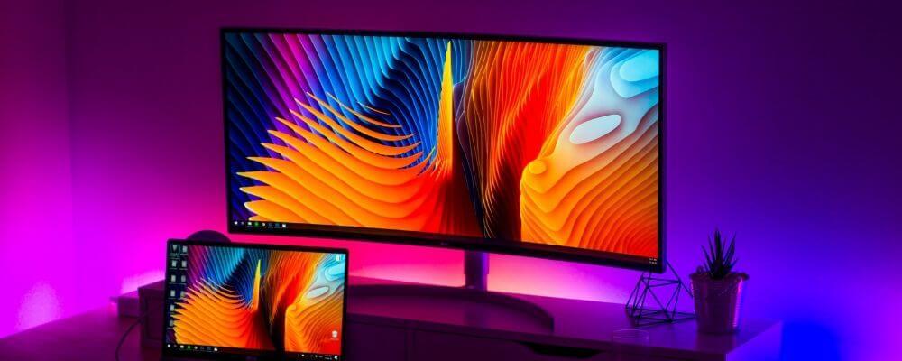 creative uses led strips screens