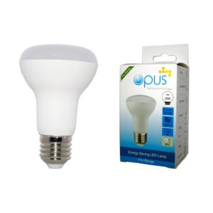 9watt R63 Reflector LED ES E27 Screw Cap Warm White Equivalent To 60watt