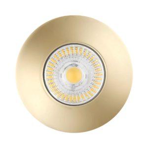 Firestay Brass Downlight With GU10 Lampholder