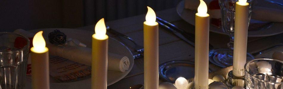 fake candles holiday lighting alternatives