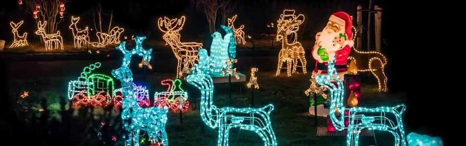 yard decorations holiday lighting alternatives