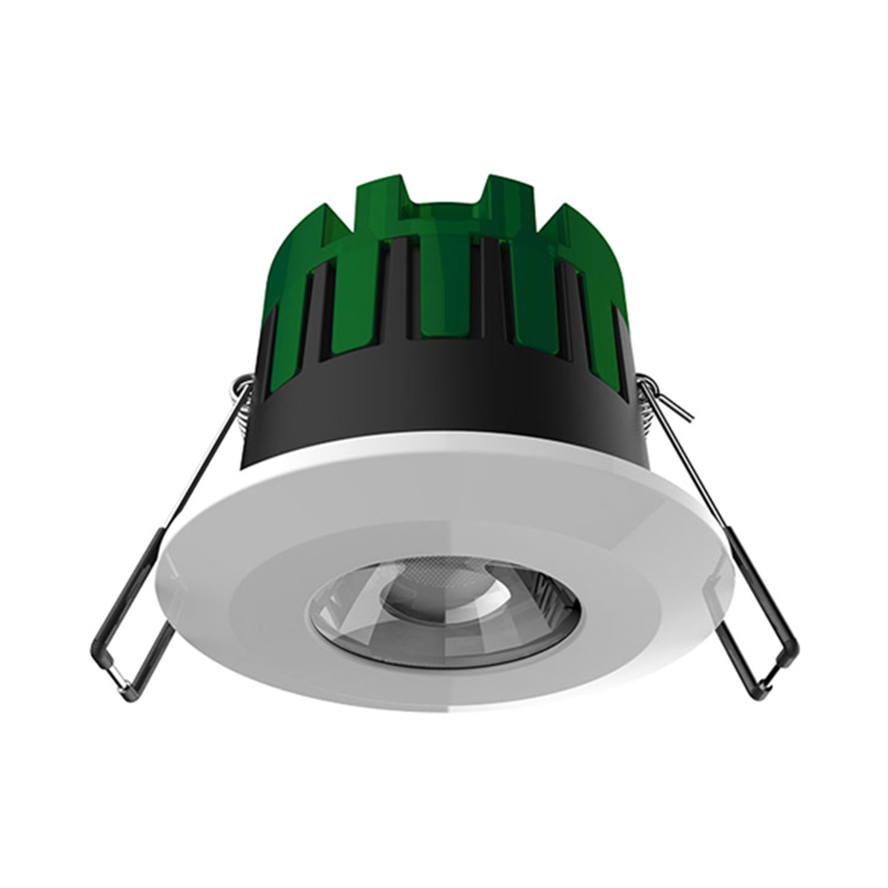 7watt Firestay Smart Bluetooth Connected Colour Change Dimmable Downlight Includes A White And Satin Bezel
