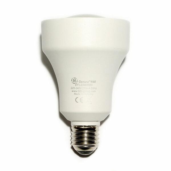 23watt R80 Genura Reflector ES E27 Screw Cap Extra Warm White Equivalent to 100watt