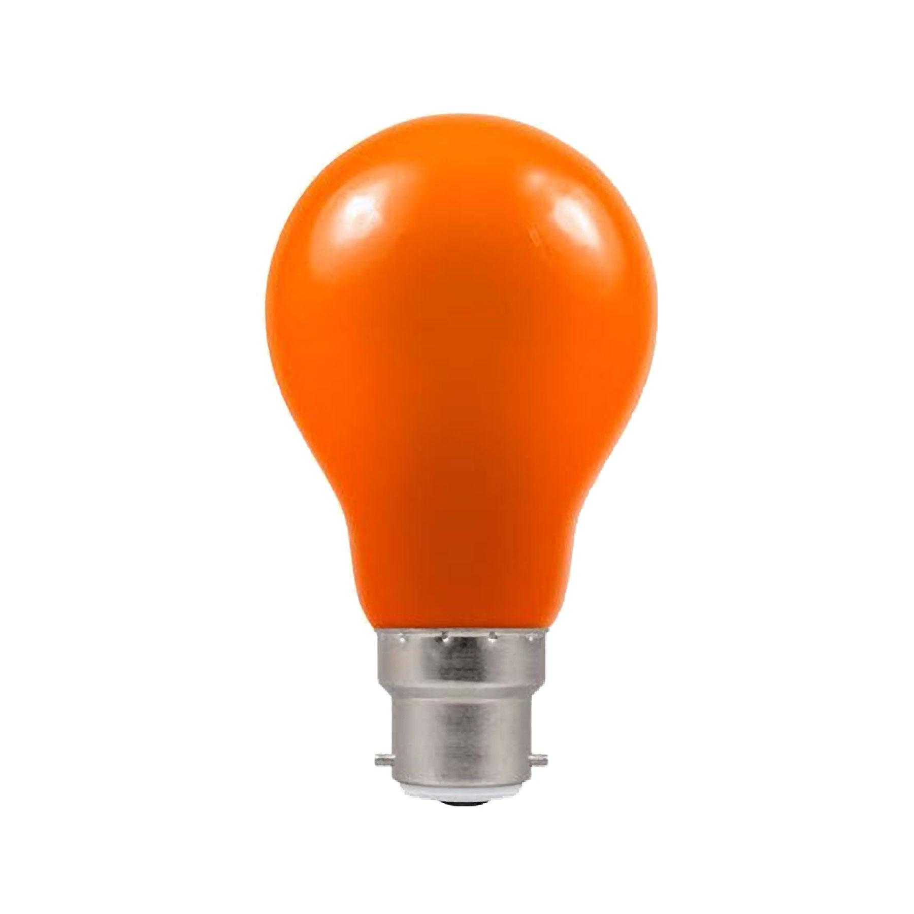 Crompton 1.5watt GLS LED BC B22 Bayonet Cap Amber Bulb - The ...