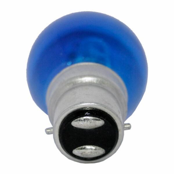 Halogen Golfball 18watt BC B22 Bayonet Cap Blue Equivalent to 25watt