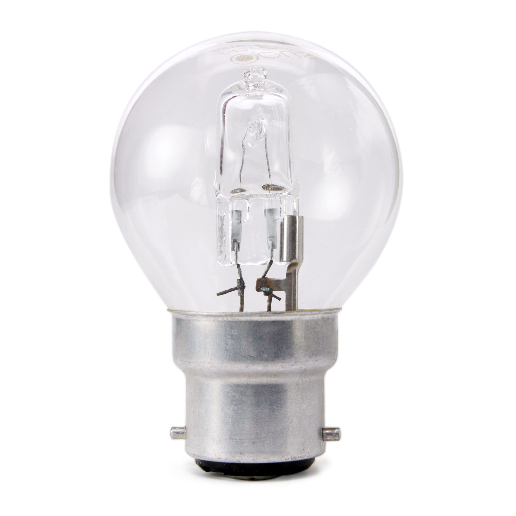 10 x Opus 28W = 40W Candle Bc B22 Bayonet Cap Long Life Clear Eco Halogen Light Bulbs Dimmable Energy Saving Lamps