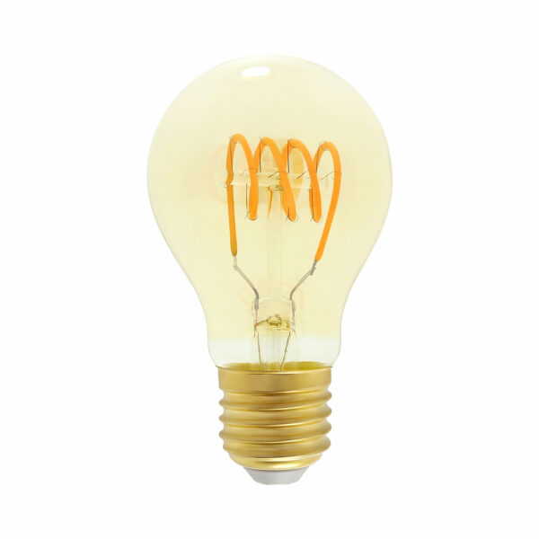 4watt GLS LED ES Screw Cap Very Warm White Gold Finish Dimmable