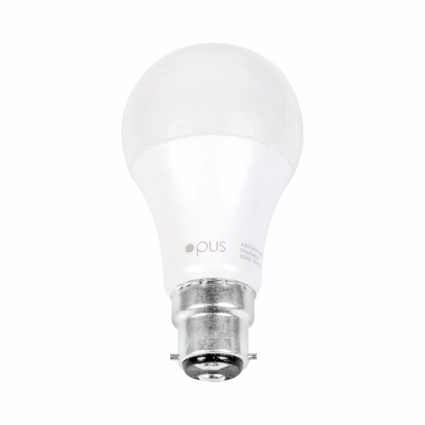 9watt GLS LED BC B22 Bayonet Cap Warm White Equivalent To 60watt Dimmable