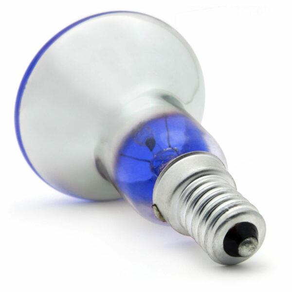 R50 25watt SES E14 Small Screw Cap Blue