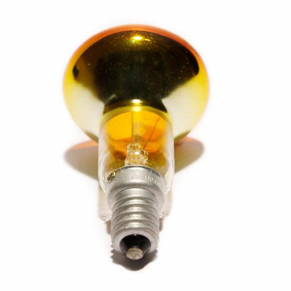 R50 25watt SES E14 Small Screw Cap Amber