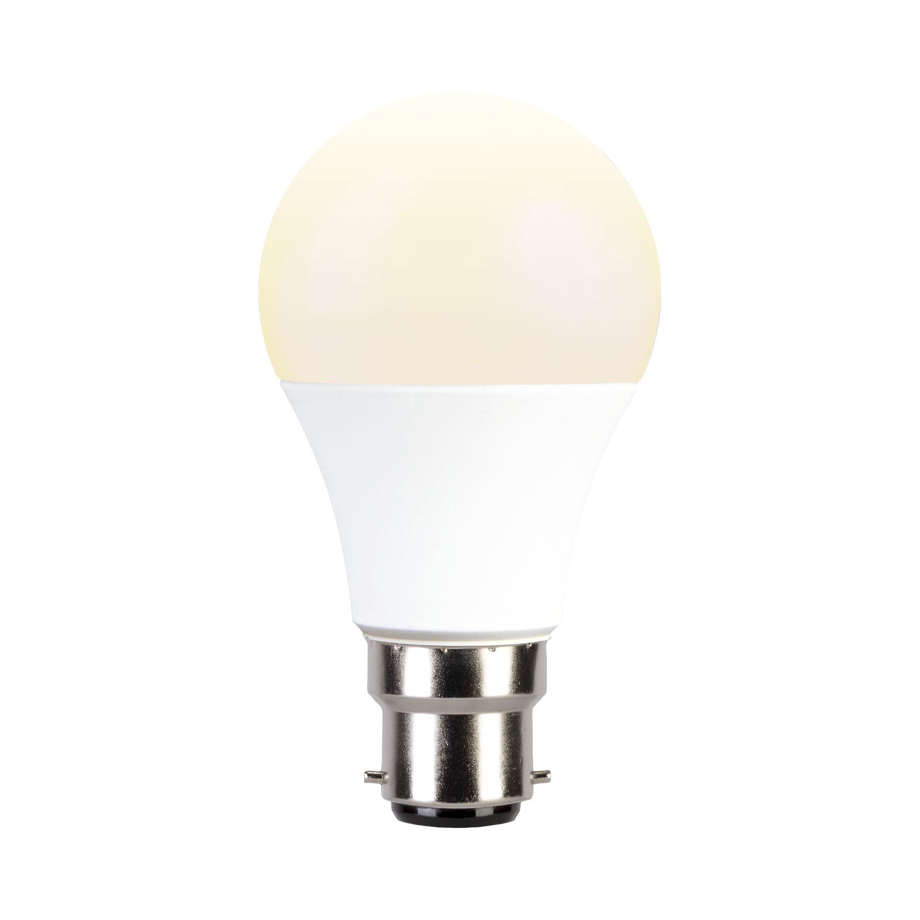 9watt Smart GLS LED BC B22 Bayonet Cap Colour Changing Wifi Bulb