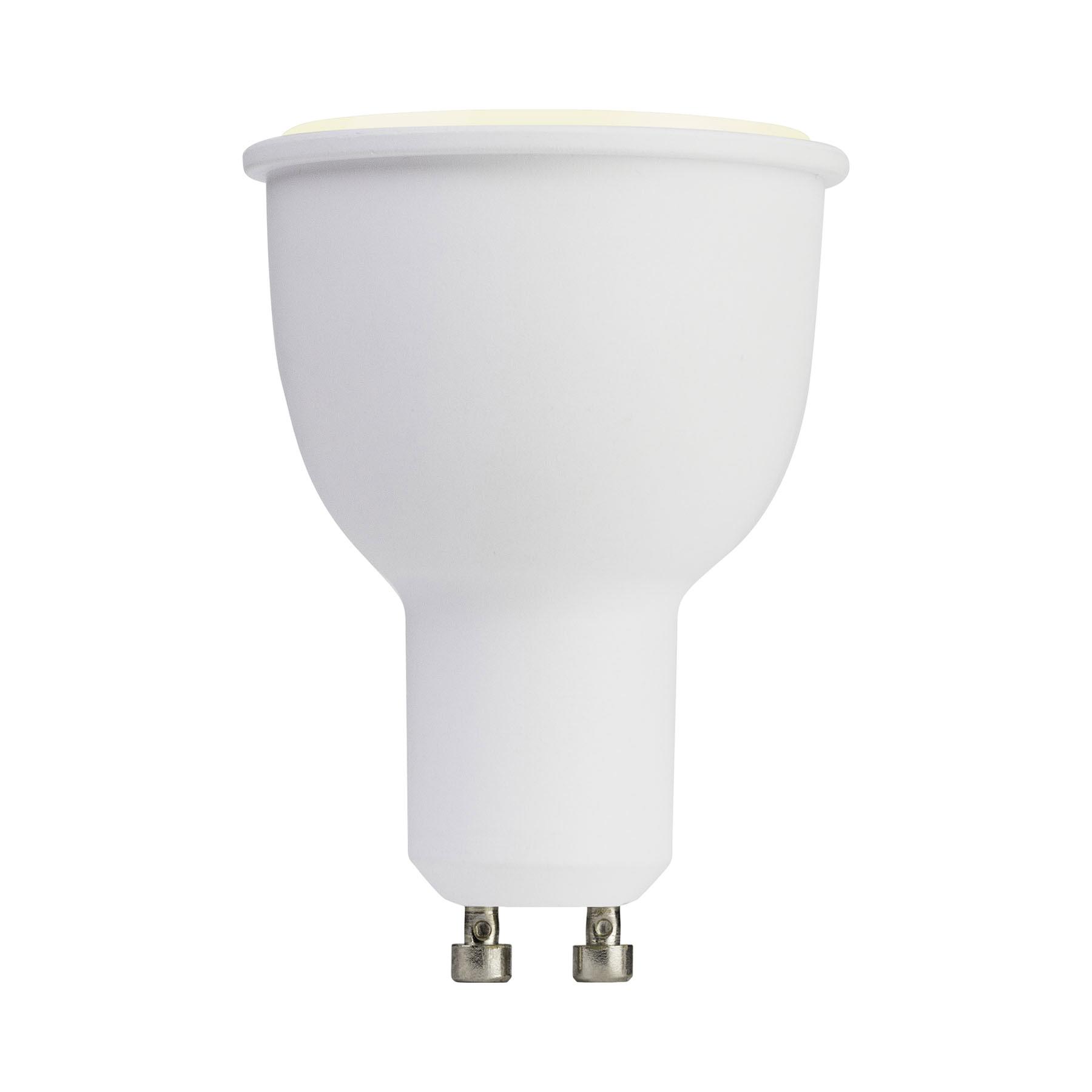 4.5watt Smart GU10 LED 2pin Twist Lock Colour Changing Wifi Bulb