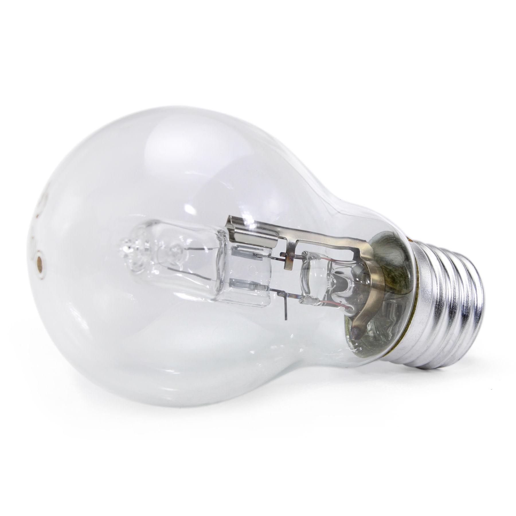 5 x Opus 70W = 100W GLS Es E27 Screw Cap Long Life Clear Eco Halogen Light Bulb Dimmable Energy Saving Lamp