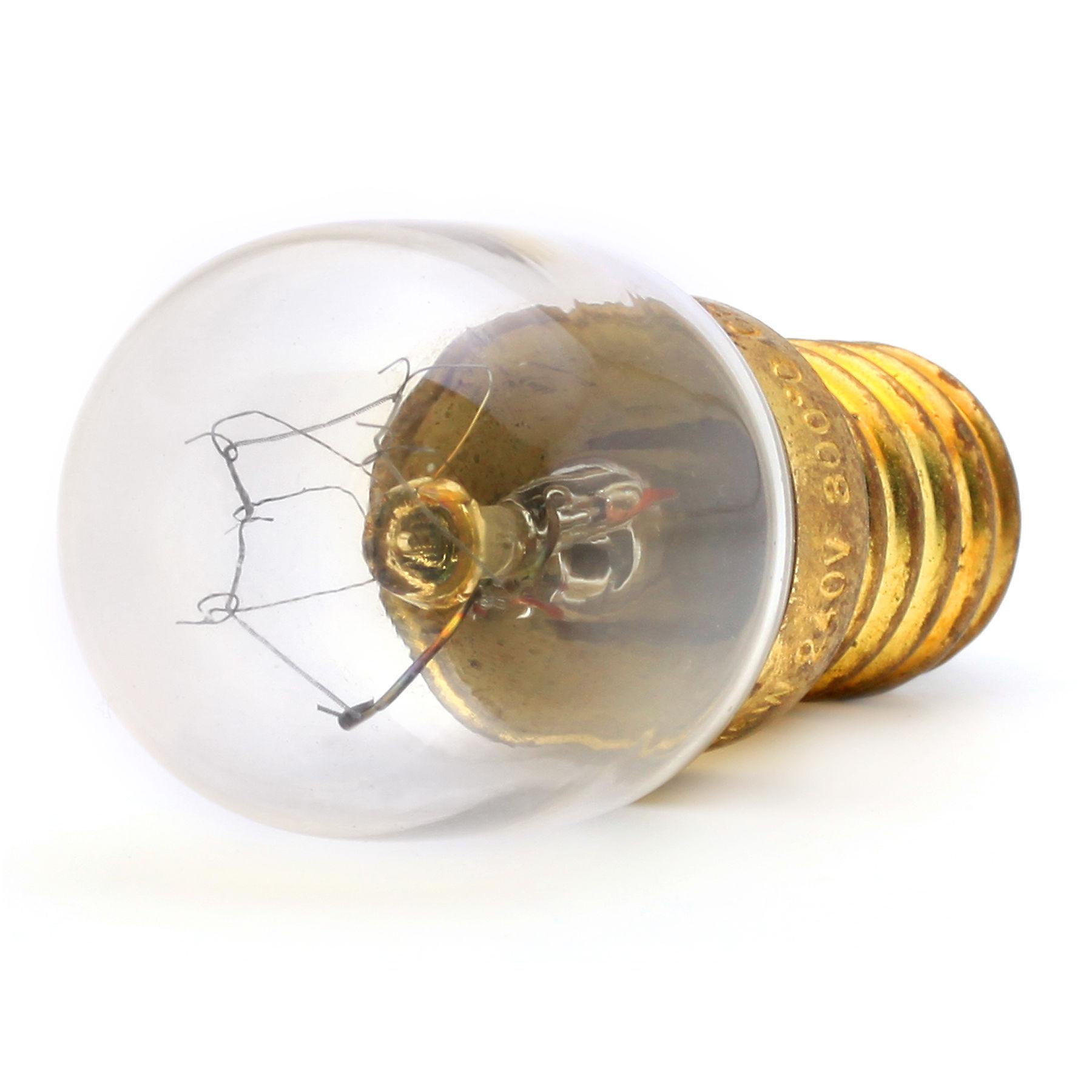 3 x 25w SES E14 Small Screw Cap 300° Branded Oven Light Bulb NEFF BOSH HOTPOINT